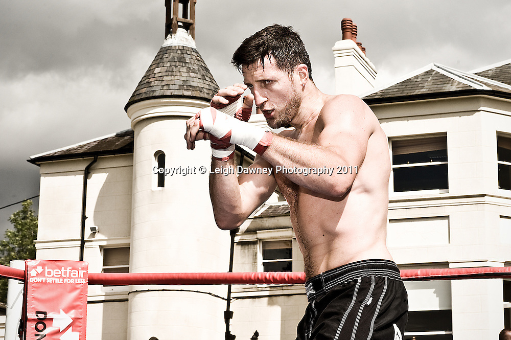 Photographs from the Matchroom Sport boxing Media day at their Headquarters in Brentwood Essex. 28.08.12 © Photos: Leigh Dawney 2012