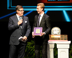 Sam Bennett of the Kingston Frontenacs was named Jack Link's Top Prospect of the Year at the 2013-14 Canadian Hockey League Awards Ceremony at the Grand Theatre in London, ON on Saturday May 24, 2014. Photo by Aaron Bell/CHL Images