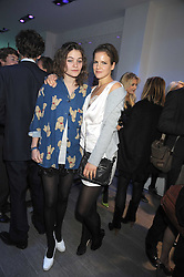 Lef to right, sisters KATE SUMNER and COCO SUMNER at a party hosted by Kate Sumner at Zadig & Voltaire to celebrate the brand's arrival in London at 182 Westbourne Grove, London W11 on 14th October 2008.