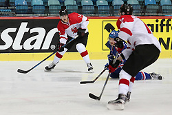 20.04.2016, Dom Sportova, Zagreb, CRO, IIHF WM, England vs Litauen, Division I, Gruppe B, im Bild LAUKAITIS Arturas. // during the 2016 IIHF Ice Hockey World Championship, Division I, Group B, match between Great Britain and Lithuania at the Dom Sportova in Zagreb, Croatia on 2016/04/20. EXPA Pictures © 2016, PhotoCredit: EXPA/ Pixsell/ Dalibor Urukalovic<br /> <br /> *****ATTENTION - for AUT, SLO, SUI, SWE, ITA, FRA only*****