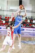 DESCRIZIONE : Valmiera Latvia Lettonia Eurobasket Women 2009 Italia Bielorussia Italy Belarus<br /> GIOCATORE : Simona Ballardini<br /> SQUADRA : Italia Italy<br /> EVENTO : Eurobasket Women 2009 Campionati Europei Donne 2009 <br /> GARA :  Italia Bielorussia Italy Belarus<br /> DATA : 09/06/2009 <br /> CATEGORIA : tiro<br /> SPORT : Pallacanestro <br /> AUTORE : Agenzia Ciamillo-Castoria/E.Castoria