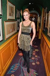 CAMILLA KERSLAKE at an exclusive performance by Mark Ronson at Annabel's, Berkeley Square, London on 2nd March 2016.