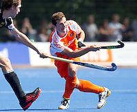UTRECHT - Sander Baart van Oranje  , zaterdag tijdens de  hockey interland tussen de mannen van Nederland en Duitsland (4-2). COPYRIGHT KOEN SUYK