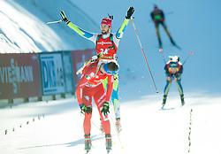 FAK Jakov (SLO) after eleventh place during Men 12,5 km Pursuit at day 3 of IBU Biathlon World Cup 2014/2015 Pokljuka, on December 20, 2014 in Rudno polje, Pokljuka, Slovenia. Photo by Vid Ponikvar / Sportida