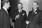 28/04/1964<br /> 04/28/1964<br /> 28 April 1964<br /> Watney Sales Conference at the Shelbourne Hotel, Dublin. At the conference were (l-r): Mr. J.W. Stone; Mr. E.C. Handel and Mr. C. Dean.