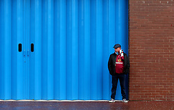 A Burnley fan arrives at Turf Moor for the Premier League fixture between Burnley and Crystal Palace - Mandatory by-line: Robbie Stephenson/JMP - 10/09/2017 - FOOTBALL - Turf Moor - Burnley, England - Burnley v Crystal Palace - Premier League