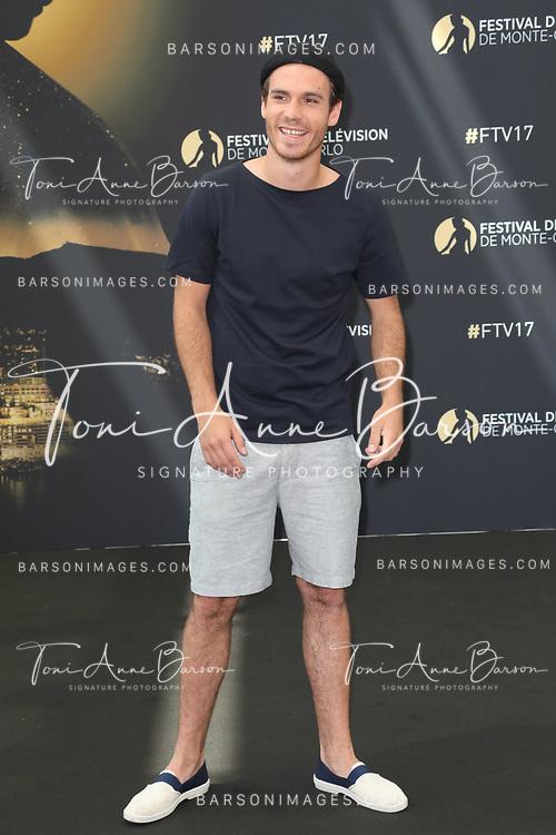 "MONTE-CARLO, MONACO - JUNE 17:  Axel Huet attends photocall for ""En Famille"" on June 17, 2017 at the Grimaldi Forum in Monte-Carlo, Monaco.  (Photo by Tony Barson/FilmMagic)"