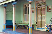 A home in Thittacheri. <br /> Tamil Nadu. South India.