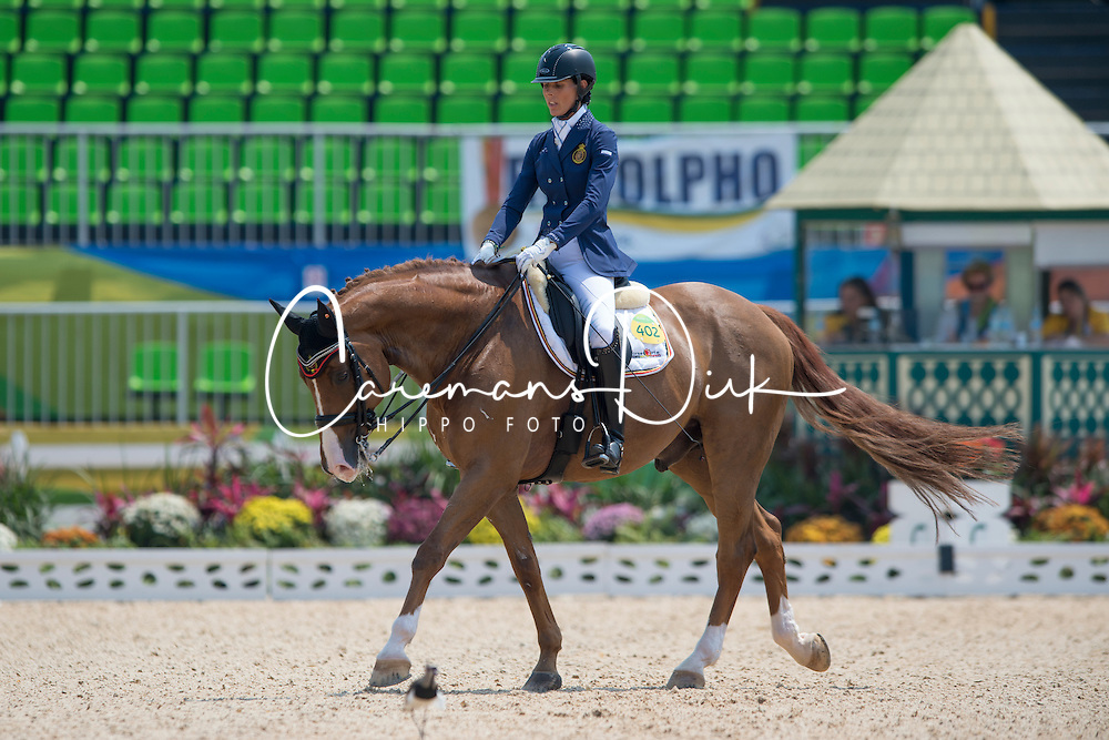 Geroge Michele (BEL) - Rainman<br /> Team Test - Grade IV - Dressage <br /> Paralympic Games - Rio 2016<br /> &copy; Hippo Foto - Jon Stroud