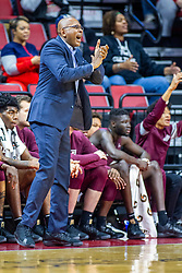 NORMAL, IL - November 10:  Darrell Walker during a college basketball game between the ISU Redbirds and the Little Rock Trojans on November 10 2019 at Redbird Arena in Normal, IL. (Photo by Alan Look)