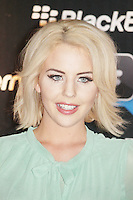 Lydia Bright was attending Blackberry's BBM Event - a celebration of the smartphone's free instant messaging app. The Bankside Vaults, London, UK. April 03, 2012. (Photo by Brett Cove)
