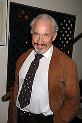 Actor SIMON CALLOW at a party to celebrate the publication of Pauline Hyde's book 'Midas Man' held at San Lorenzo, Beauchamp Place, London on 29th May 2008.<br />