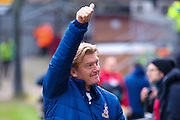 Bradford City Manager Stuart McCall  during the EFL Sky Bet League 1 match between Bradford City and Millwall at the Northern Commercials Stadium at Valley Parade, Bradford, England on 21 January 2017. Photo by Simon Davies.