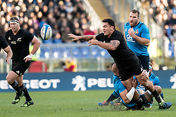 November 12, 2016 - Rome, Italy - Anton Lienert-Brown of New Zealand  during the International Match between Italy and New Zealand at Stadio Olimpico, Rome, Italy on 12 November 2016. Photo by Giuseppe Maffia. (Credit Image: © Giuseppe Maffia/NurPhoto via ZUMA Press)