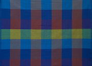 Blue and Brown Checks.<br />