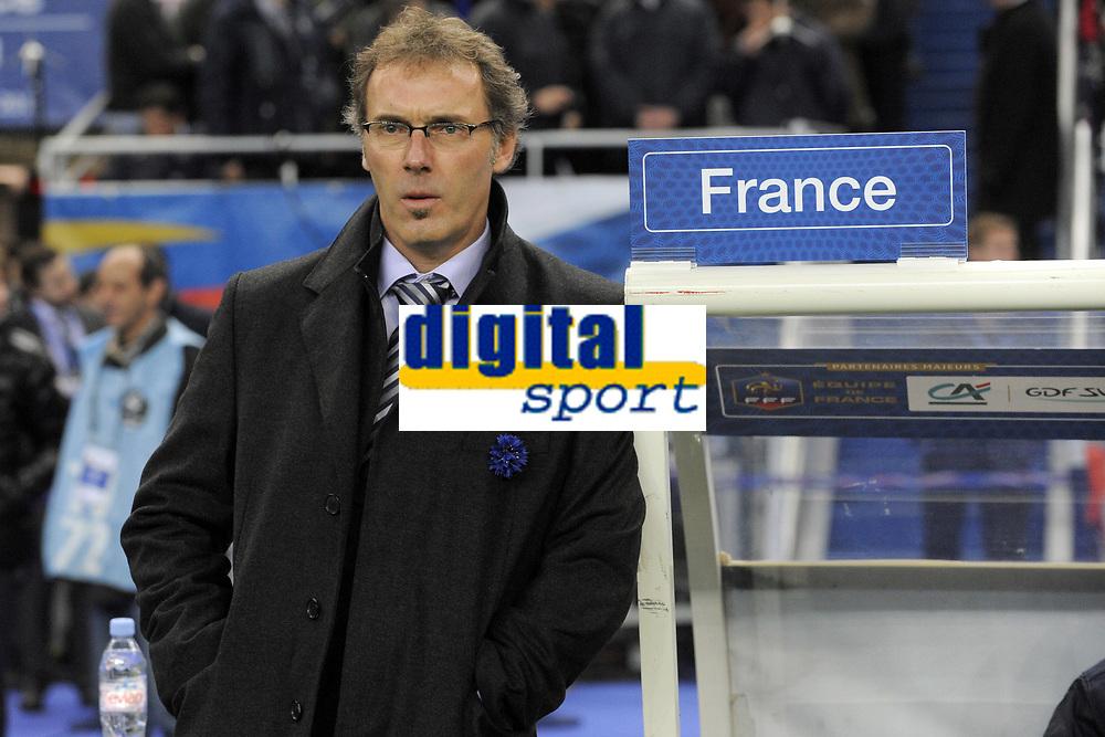 FOOTBALL - INTERNATIONAL FRIENDLY GAMES 2011/2012 - FRANCE v USA - 11/11/2011 - PHOTO JEAN MARIE HERVIO / DPPI - LAURENT BLANC (COACH FRANCE)