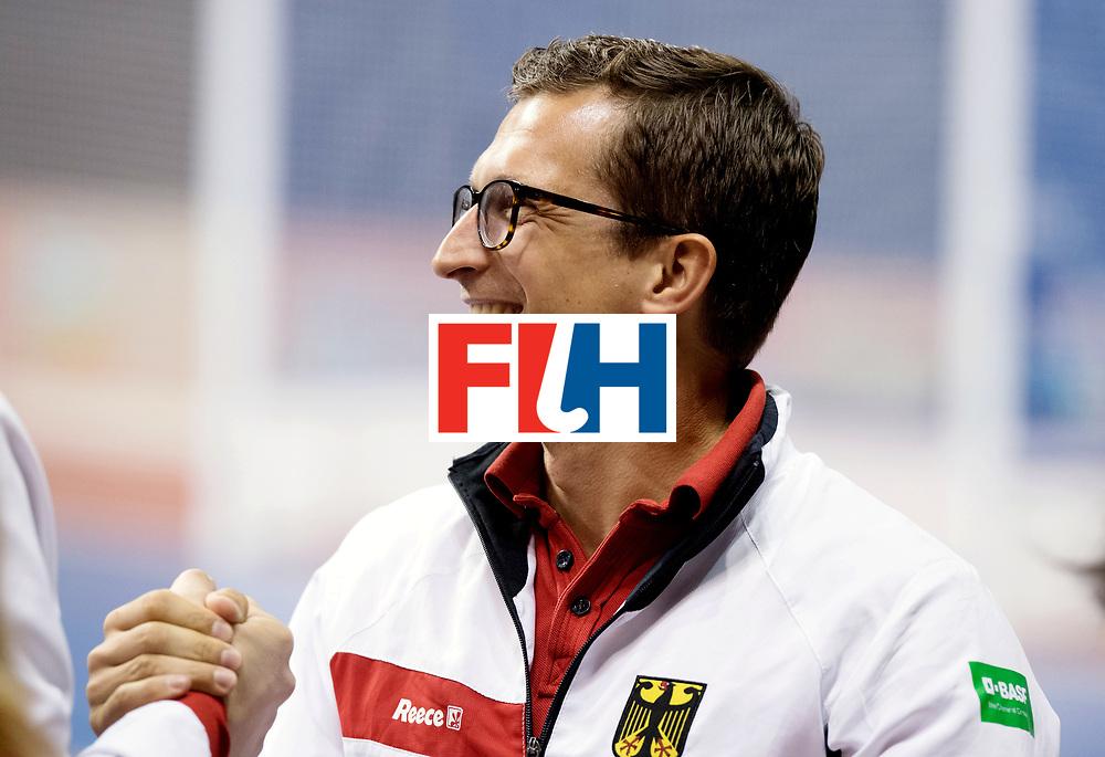 BERLIN - Indoor Hockey World Cup<br /> Women: Germany - Russia<br /> foto: <br /> WORLDSPORTPICS COPYRIGHT FRANK UIJLENBROEK