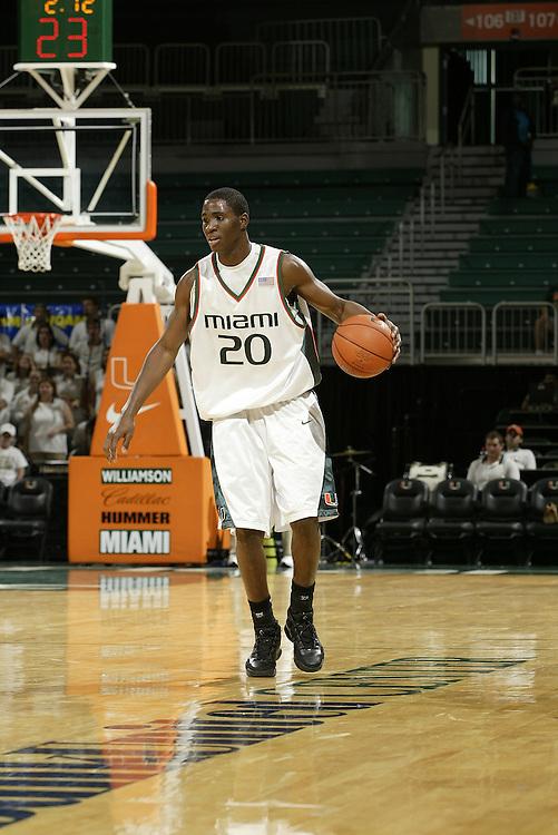 2007 Miami Hurricanes Men's Basketball
