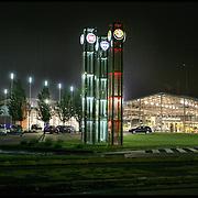 Mirafiori Motor Village centro vendita di Fiat Auto all'interno dello stabilimento di Mirafiori a Torino
