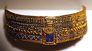 Tomb treasure Rings: King Amun-Zeus Ammon with ram's head. Gold