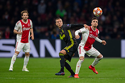 10-04-2019 NED: Champions League AFC Ajax - Juventus,  Amsterdam<br /> Round of 8, 1st leg / Ajax plays the first match 1-1 against Juventus during the UEFA Champions League first leg quarter-final football match / Nicolas Tagliafico #31 of Ajax,