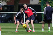 Dundee&rsquo;s Ian Smith and Conor Quigley -  Dundee FC - Pre-season training at University Grounds, Riverside, Dundee, Photo: David Young<br /> <br />  - &copy; David Young - www.davidyoungphoto.co.uk - email: davidyoungphoto@gmail.com