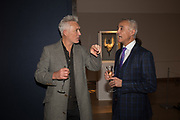 MARTIN KEMP, ANDREW RIDGELEY,,, The George Michael Collection drinks.  Christie's, King St. London, 12 March 2019