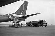 24/10/1962<br /> 10/24/1962<br /> 24 October 1962<br /> Sabena Boeing 707 aircraft being refuelled at Dublin Airport by Shell fuel tanker.