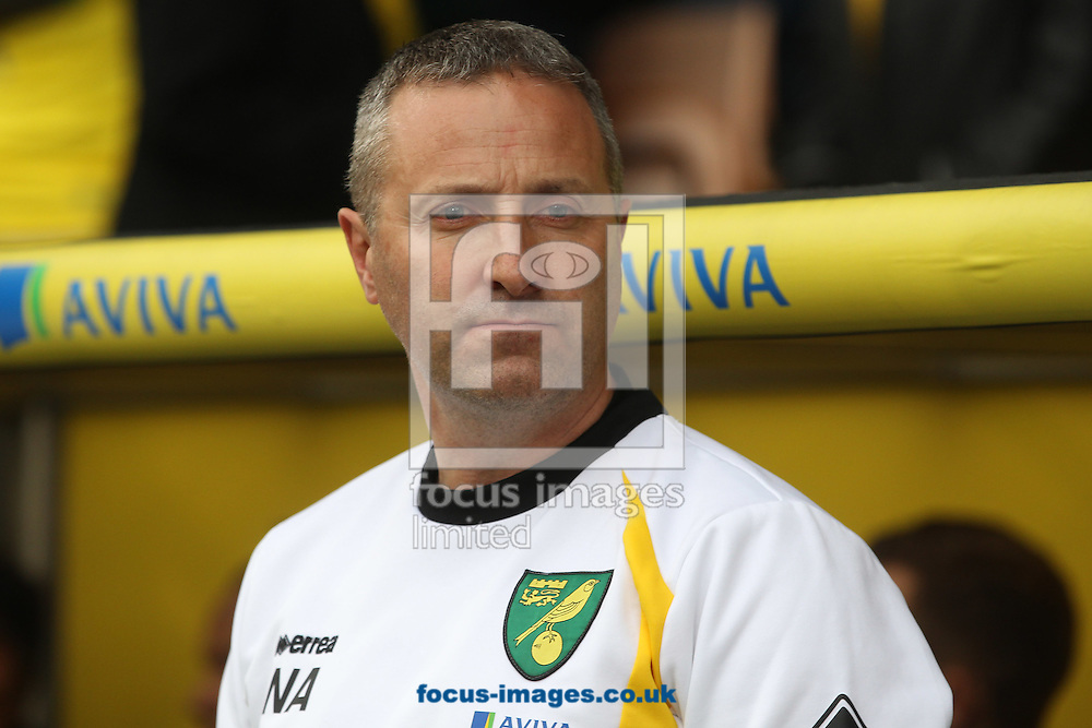 Norwich Manager Neil Adams before the Sky Bet Championship match at Carrow Road, Norwich<br /> Picture by Paul Chesterton/Focus Images Ltd +44 7904 640267<br /> 04/10/2014