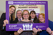 Session 7: THE ROLE AND RESPONSIBILITIES OF POLITICAL PARTIES IN TACKLING VIOLENCE AGAINST POLITICALLY ACTIVE WOMEN 'Violence Against Women in Politics' Conference, organised by all the UK political parties in partnership with the Westminster Foundation for Democracy, 19th and 20th of March 2018, central London, UK.  (Please credit any image use with: © Andy Aitchison / WFD