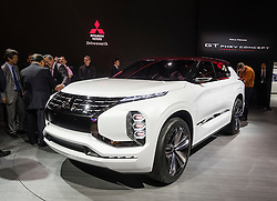 Mitsubishi GT PHEV concept SUV at Paris Motor Show 2016