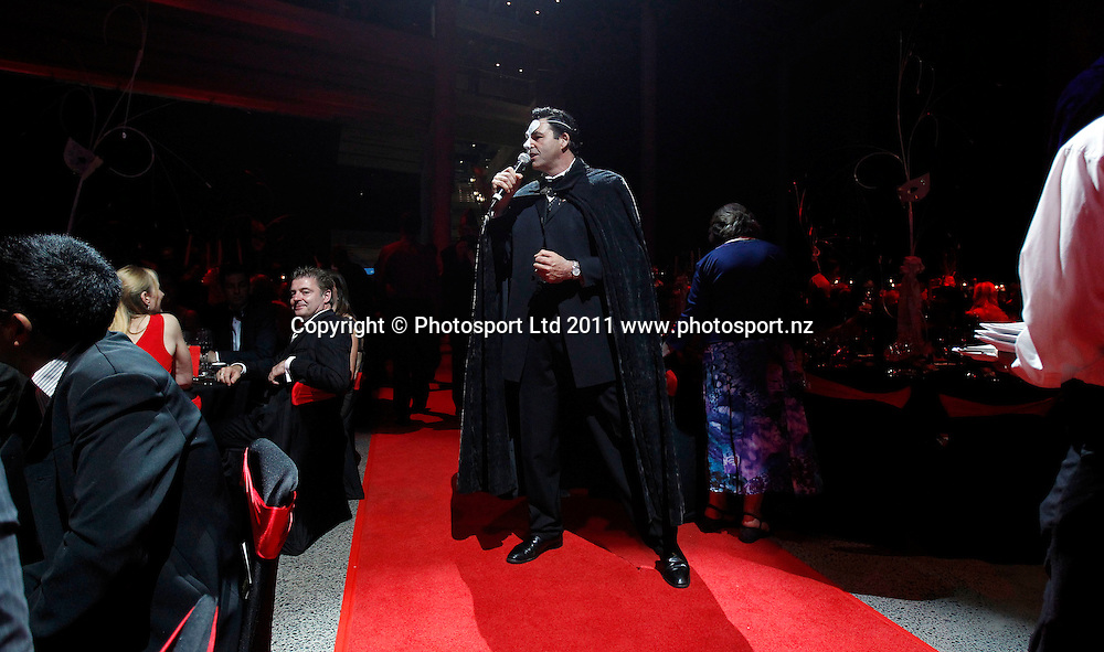 Singer Geoff Knight during the Mayoress' Charity Gala Ball, Viaduct Events Centre, Auckland, New Zealand.  Saturday 19 November 2011 . Photo: Simon Watts / photosport.co.nz