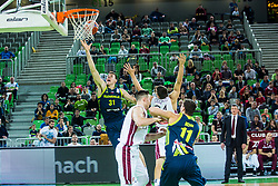 Vlatko Cancar of Slovenia during basketball match between National teams of Slovenia and Latvia in Round #10 of FIBA Basketball World Cup 2019 European Qualifiers, on December 2, 2018 in Arena Stozice, Ljubljana, Slovenia. Photo by Grega Valancic
