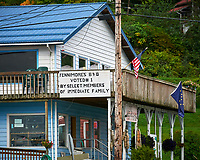Fennimores B&B in Wrangell. Image taken with a Nikon D300 camera and 70-300 mm VR lens.