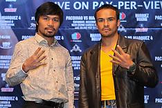 September 19, 2012: Manny Pacquiao vs Juan Manuel Marquez IV Presser