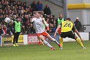 L7/ and Burton Albion defender Colin Daniel (26) during the EFL Sky Bet League 1 match between Burton Albion and Luton Town at the Pirelli Stadium, Burton upon Trent, England on 27 April 2019.