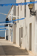 Street at Tabarca Island, Alicante province,<br /> Costa Blanca, Spain