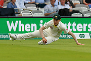 Marnus Labuschagne of Australia fields during the International Test Match 2019 match between England and Australia at Lord's Cricket Ground, St John's Wood, United Kingdom on 18 August 2019.