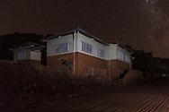 MARIANA, MG, BRASIL, 08-02-2016: Marcas da lama na escola publica de Paracatu de Baixo, distrito de Mariana-MG, a comunidade foi atingida pelo rejeito de minério no dia 5 de novembro de 2015, quando a barragem de Fundão, da mineradora Samarco, rompeu, lançando no ambiente mais de 40 bilhões de litros de lama. (Foto: Avener Prado)