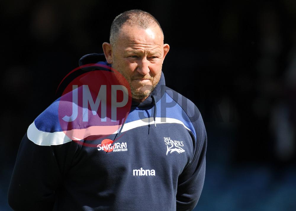 Sale Sharks Director of Rugby Steve Diamond.  - Mandatory by-line: Alex Davidson/JMP - 23/04/2016 - RUGBY - Recreation Ground - Bath, England - Bath Rugby v Sale Sharks - Aviva Premiership
