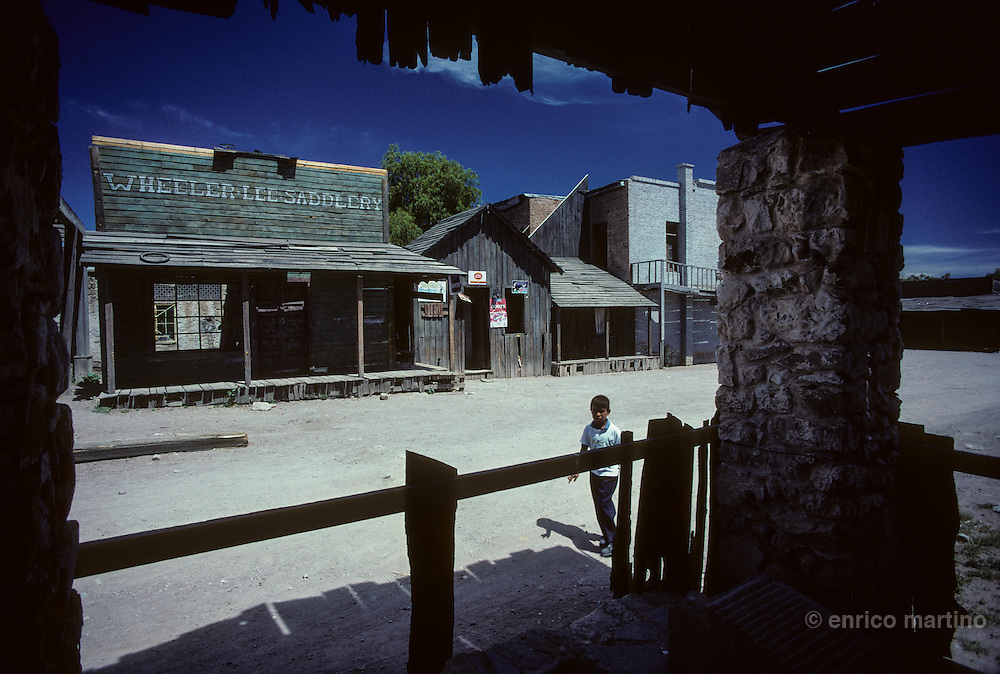 Durango, ?Calle Howard?, western movie town utilised by Hollywood. Durango's locations have been utilised for more than 120 movies.