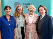 Sabina HIggins at launch of Saolta ART GUH