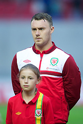 LLANELLI, WALES - Wednesday, August 15, 2012: Wales' Darcy Blake before the international friendly match against Bosnia-Herzegovina at Parc y Scarlets. (Pic by David Rawcliffe/Propaganda)