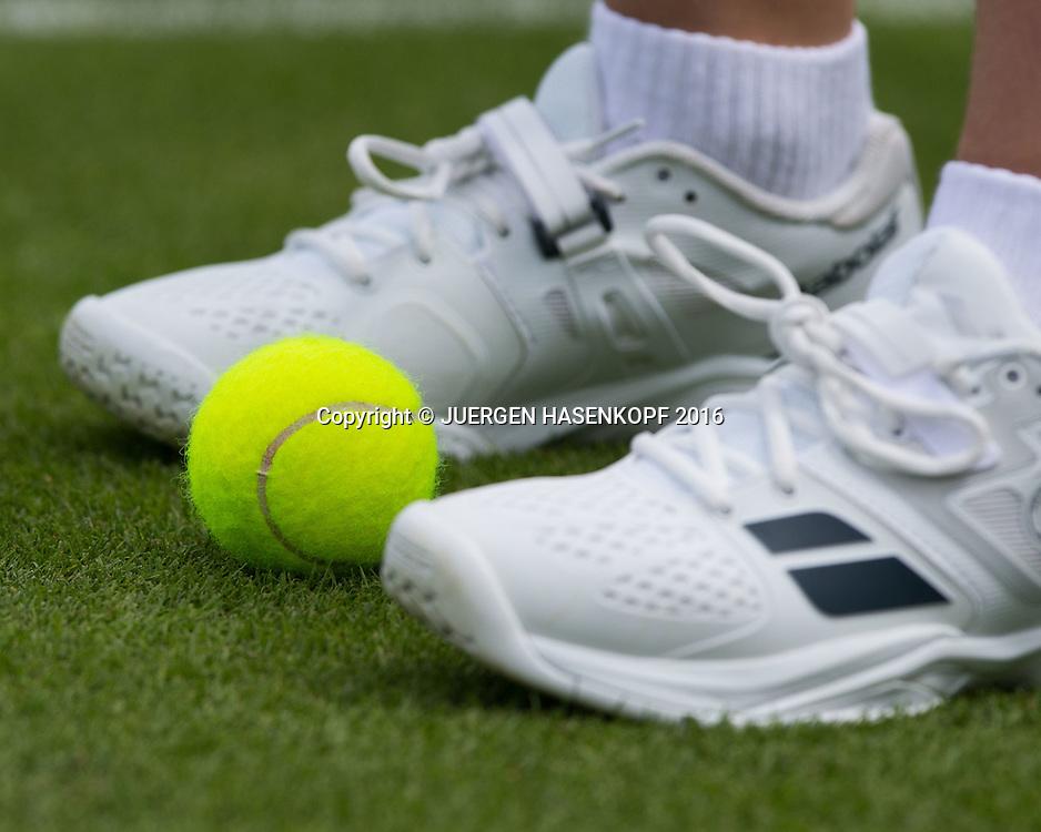 Wimbledon Feature<br /> <br /> Tennis - Wimbledon 2016 - Grand Slam ITF / ATP / WTA -  AELTC - London -  - Great Britain  - 27 June 2016.