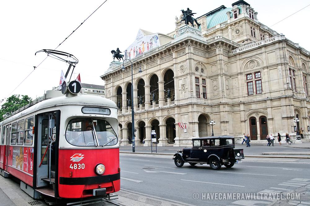 Burgtheater in Vienna, Austria