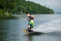 Bradley water sports session with Mike Morin on Lake Winnipesaukee.   Karen Bobotas Photographer.  © 2013 Karen Bobotas.