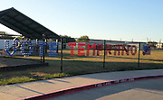 """Brookline Elementary displays a """"Vote Early"""" message on its fence, spelled out with Dixie cups.<br /> To submit photos for inclusion in eNews, send them to hisdphotos@yahoo.com."""