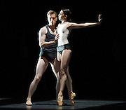 Infra<br /> The Royal Ballet triple bill <br /> at The Royal Opera House, Covent Garden, London, Great Britain <br /> general rehearsal <br /> 3rd November 2012 <br /> <br /> Infra<br /> by Wayne McGregor<br /> Music by Max Richter<br /> Set designs by Julian Opie<br /> costumes by Moritz Junge<br /> Lighting by Lucy Carter<br /> Sound by Chris Ekers<br /> Ballet Master Gary Avis<br /> <br /> <br /> Camille Bracher<br /> Francesca Hayward<br /> Meaghan Grace Hinkis<br /> Fumi Kaneko<br /> Sarah Lamb<br /> Yasmine Naghdi<br /> <br /> Tristan Dyer<br /> James Hay Brian Maloney<br /> Ludovic Ondiviela<br /> Johannes Stepanek<br /> Dawid Trzensimiech<br /> <br /> <br /> Photograph by Elliott Franks