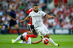 Lewis Baker of Vitesse Arnhem in action - Mandatory by-line: Jason Brown/JMP - Mobile 07966386802 - 31/07/2015 - SPORT - FOOTBALL - Southampton, St Mary's Stadium - Southampton v Vitesse Arnhem - Europa League