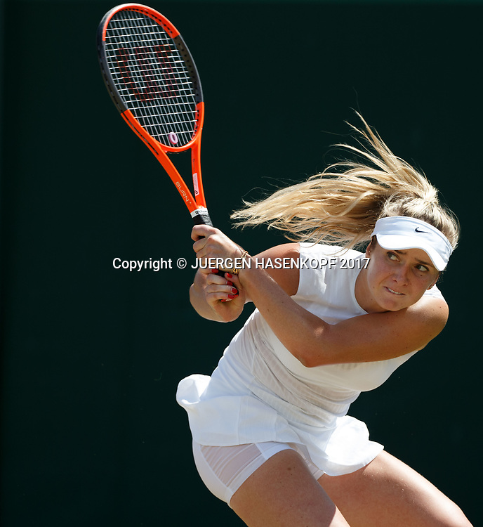 ELINA SVITOLINA (UKR)<br /> <br /> Tennis - Wimbledon 2017 - Grand Slam ITF / ATP / WTA -  AELTC - London -  - Great Britain  - 10 July 2017.